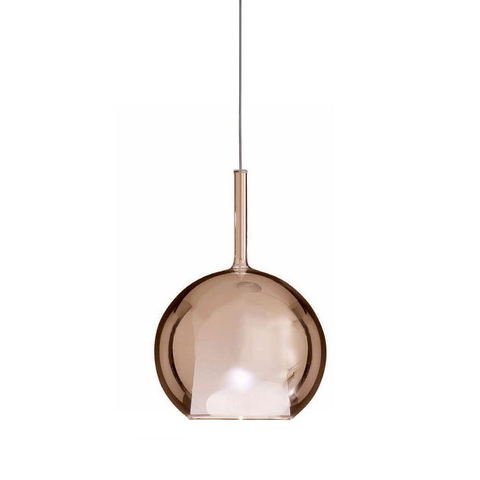 Подвесной светильник копия GLO by Penta (бронзовый, D25)