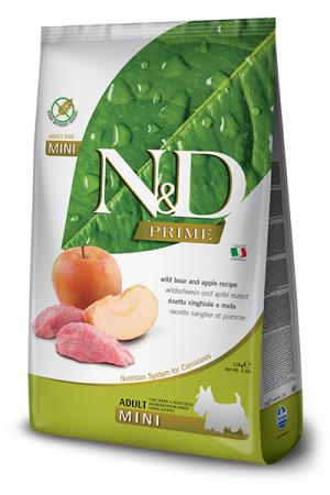 Farmina Корм для собак мелких пород, Farmina N&D Boar & Apple Adult Mini, с кабаном и яблоком 96_52_96_10_nd-prime-adult-mini-wild-boar-apple.png
