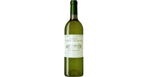 Вино защ. Шато Кантелудетт бел. сух. 11,5* Алкомаркет 0,75л