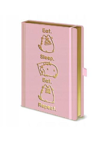 Ежедневник Pyramid: Pusheen (Eat. Sleep. Eat. Repeat.) Premium A5 Notebooks