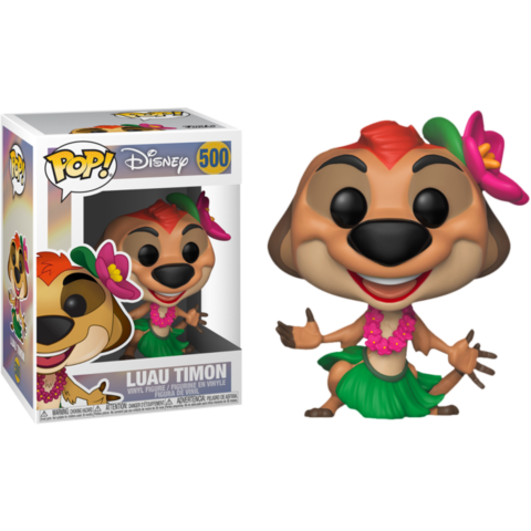 Фигурка Funko Pop! Disney: The Lion King - Luau Timon