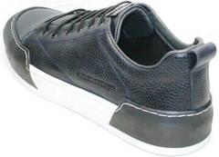 Осенние мужские кеды кроссовки на каждый день Luciano Bellini C6401 TK Blue.