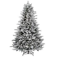 Ель Royal Christmas Nashville Flocked 210 см заснеженная