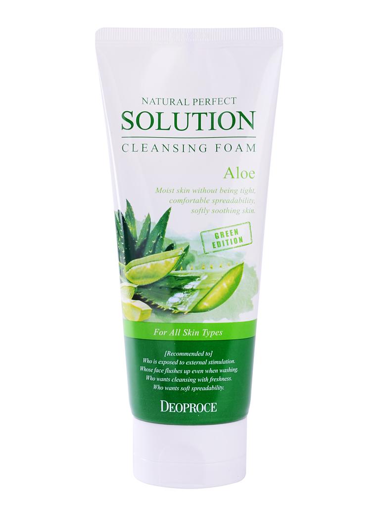 Очищение Пенка для умывания алое NATURAL PERFECT SOLUTION CLEANSING FOAM GREEN EDITION ALOE i28937_1484743524_5.jpg