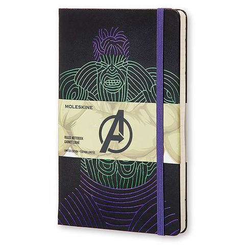 Блокнот Moleskine Limited Edition THE AVENGERS Мстители LEAVQP060HU Large 130х210мм 240стр. линейка Hulk
