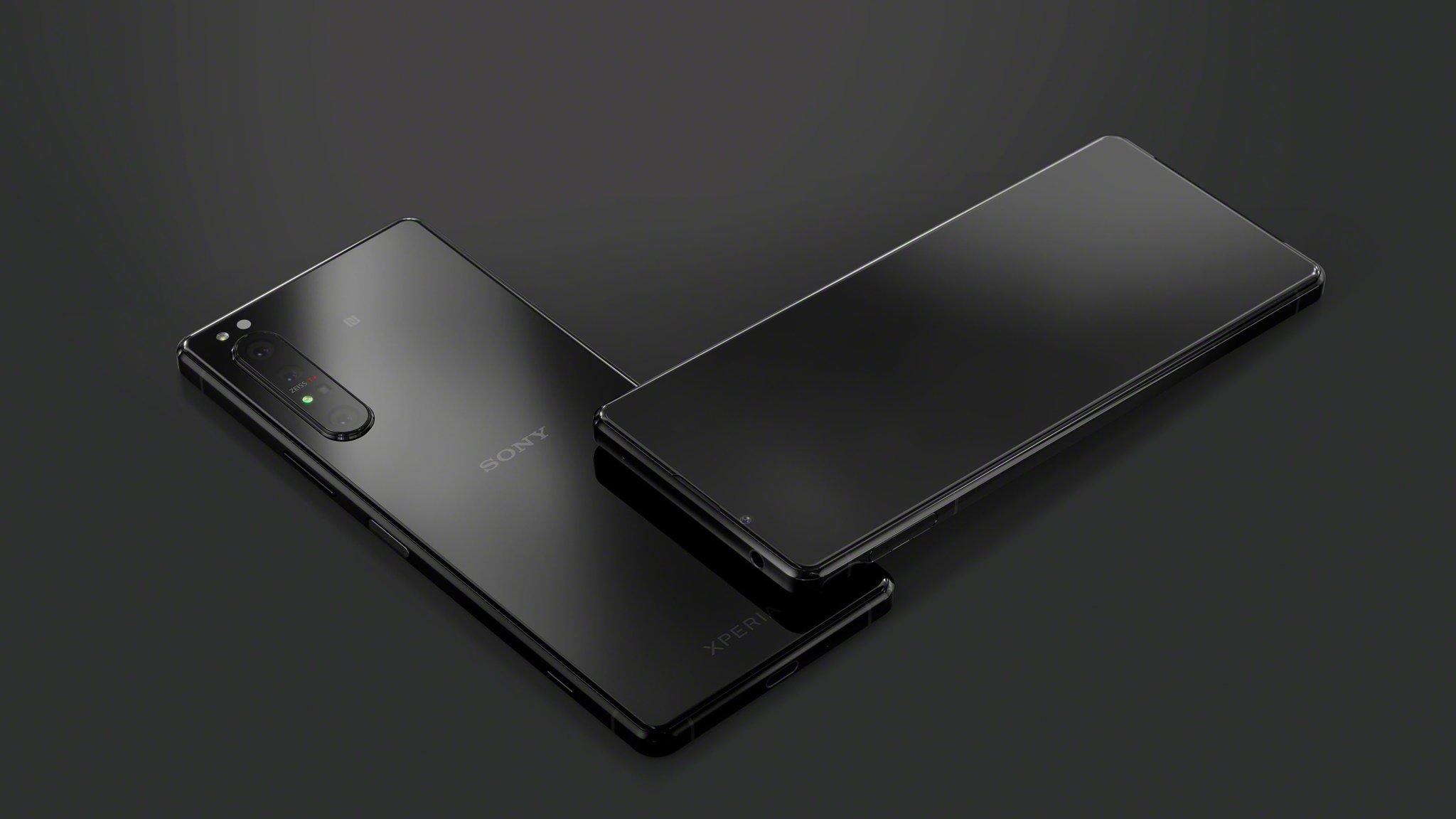 Смартфон Sony Xperia 1 II, цвет чёрный