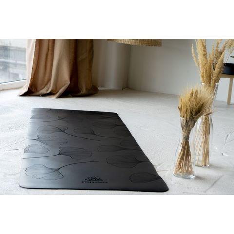 Каучуковый коврик для йоги Leaf 185*68*0,4 см