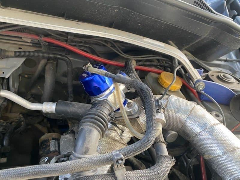 Замена штатного байпас клапана на блоу офф Turbosmart Dual Port