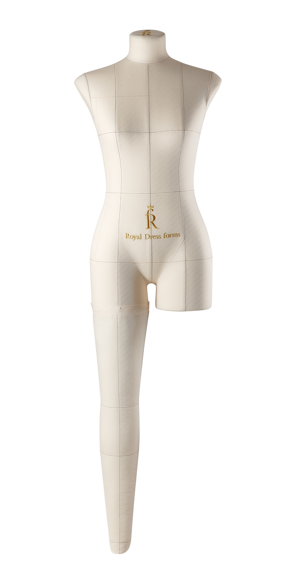 Нога бежевая для манекена Моника, размер 42