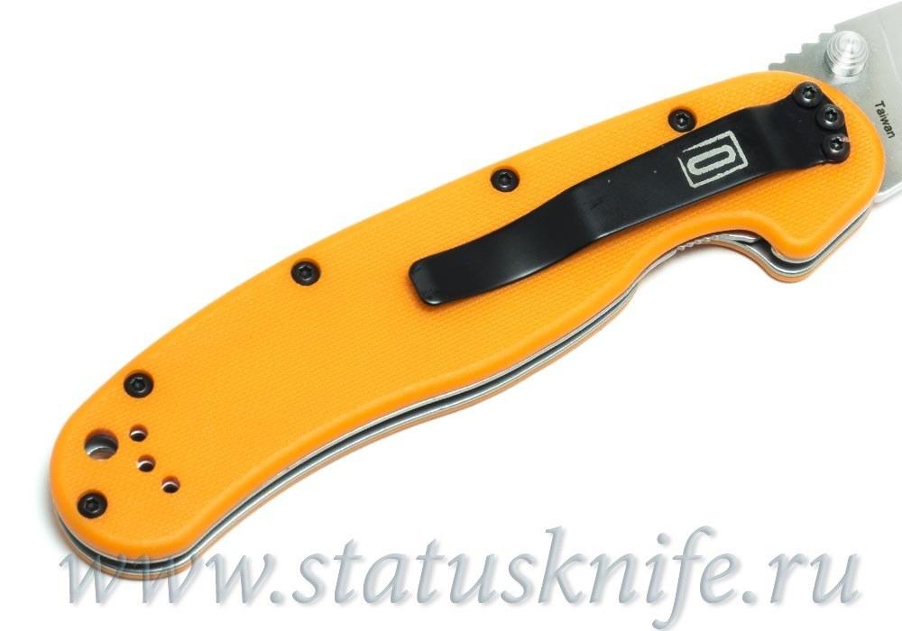 Нож Ontario Rat 1 8848OR оранжевый - фотография