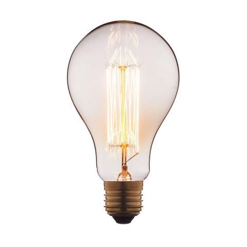 Лампа накаливания E27 60W груша прозрачная 9560-SC