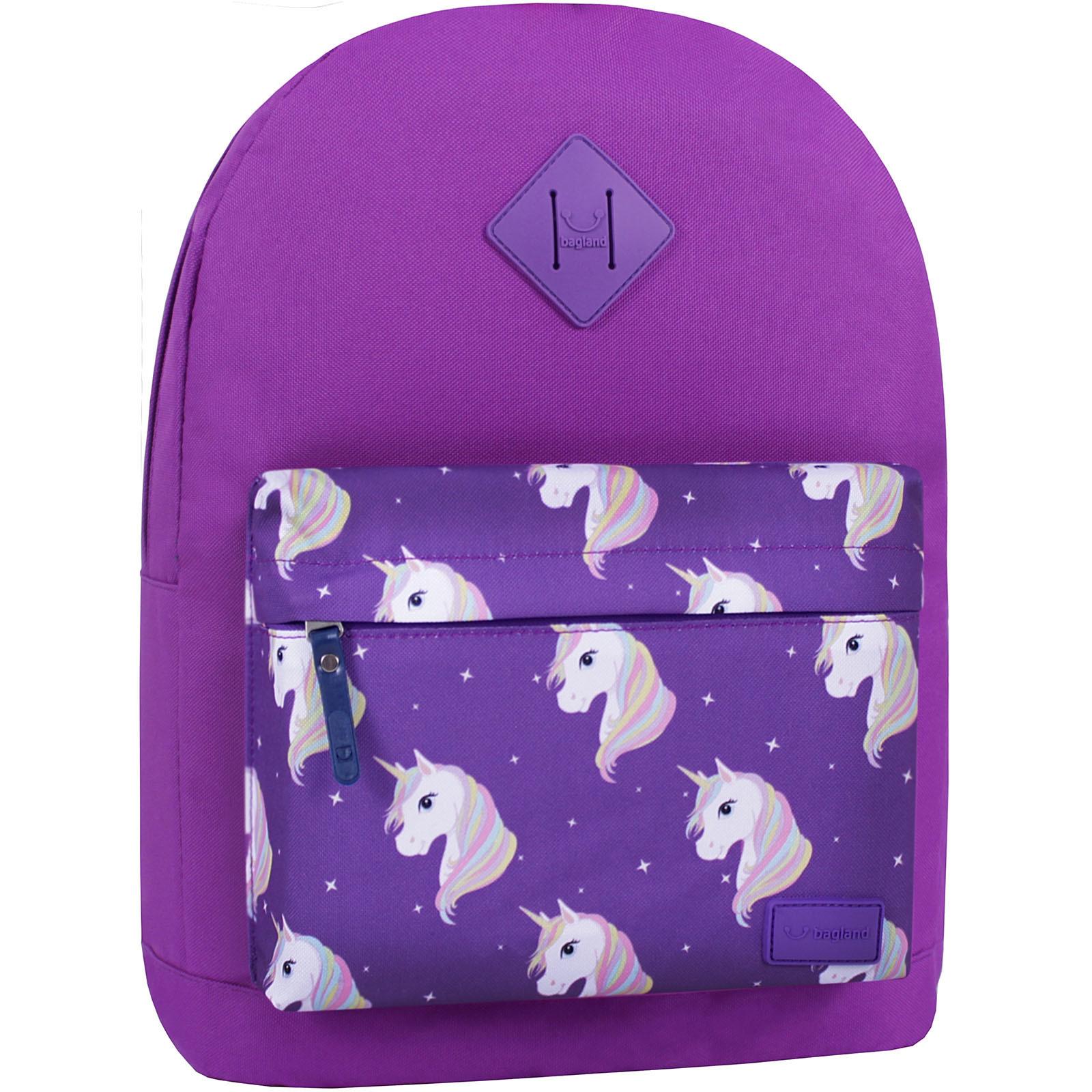 Молодежные рюкзаки Рюкзак Bagland Молодежный W/R 17 л. 339 Фиолетовый 747 (00533662) IMG_7439_суб.747_.JPG