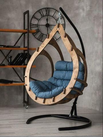 Подвесное кресло Каппуло Орех PK01
