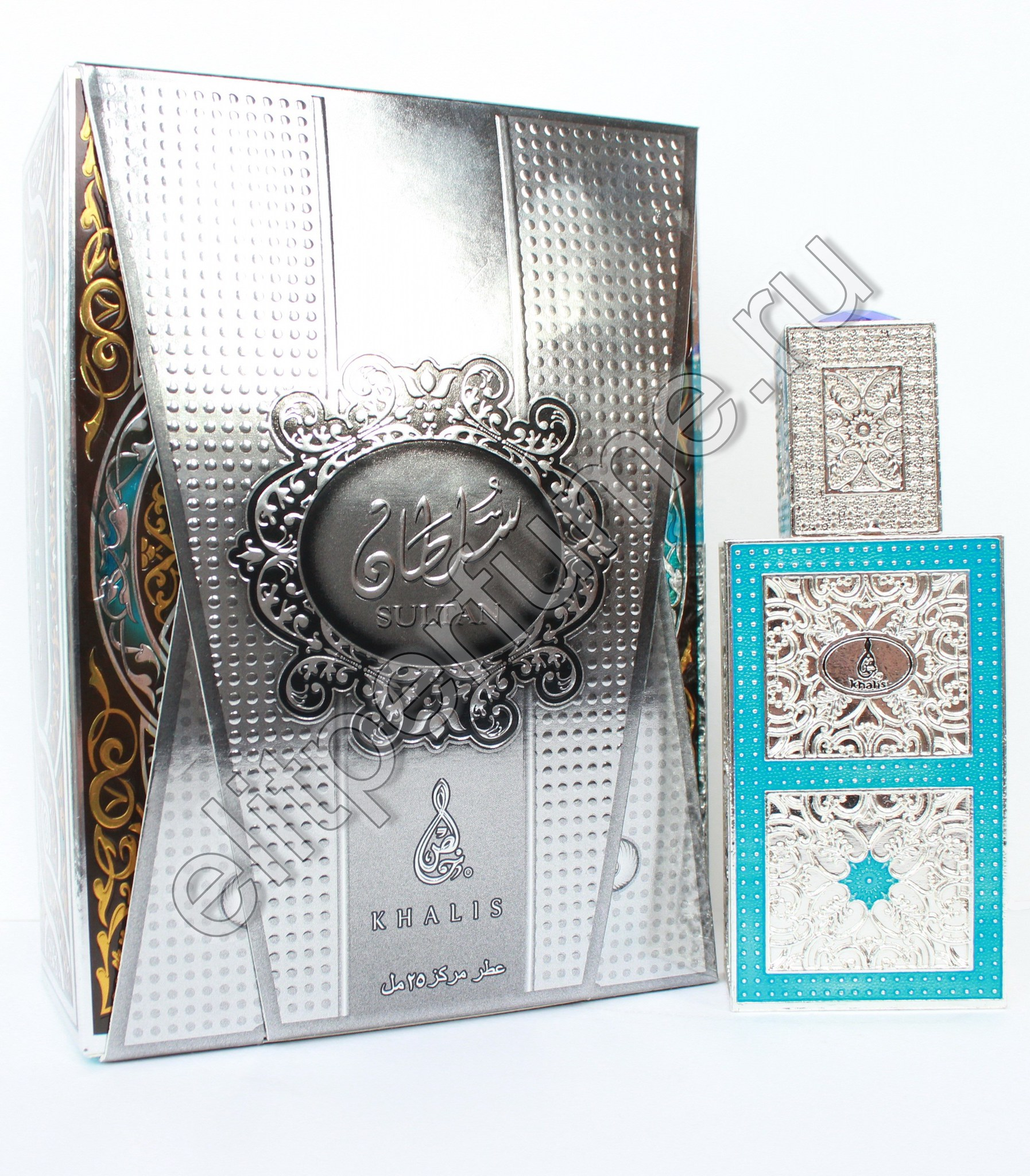 Sultan Султан Халис 25 мл арабские масляные духи от Халис Khalis Perfumes