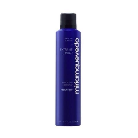 MIRIAM QUEVEDO | Лак для волос средней фиксации с экстрактом черной икры / Extreme Caviar Final Touch Hairspray – Medium Hold, (300 мл)