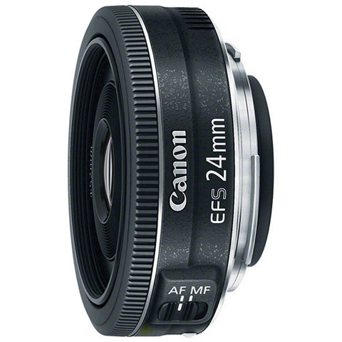 Объектив Canon EF-S 24mm f/2.8 STM Black для Canon