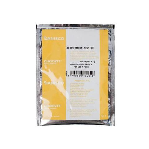 Danisco CHOOZIT MM 101, 25 DCU, мезофильная закваска (на 500 л)