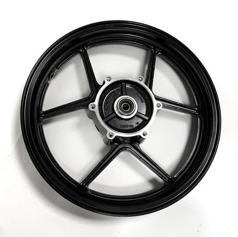 Передний колёсный диск Arashi для Kawasaki Ninja 250R 2008-2012 черный