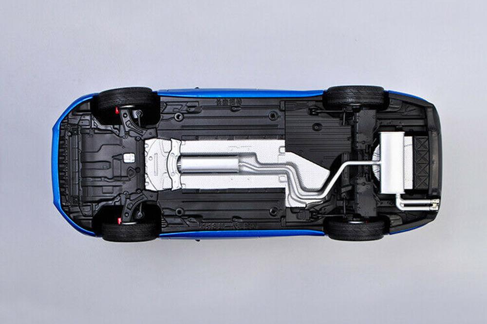 Коллекционная модель FORD FOCUS ALL NEW 2020 BLUE