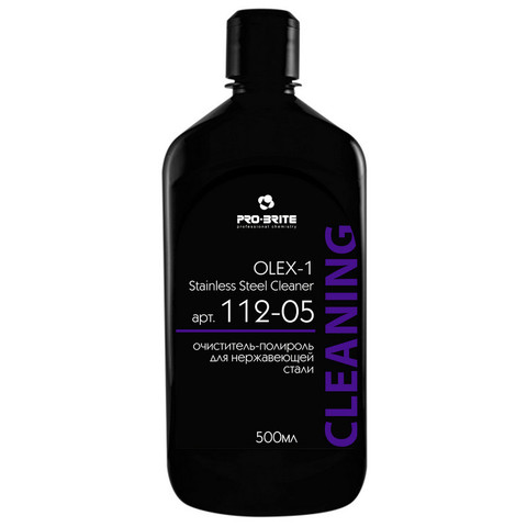 Очиститель-полироль для нержавеющей стали Pro-Brite Olex-1 0.5 л