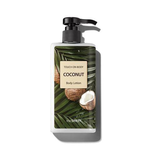 Лосьон для тела с маслом кокосаTHE SAEM Touch On Body Coconut Body Lotion  300 мл.