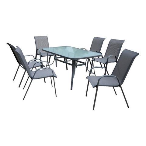 Комплект садовый KINGSTON (стол и 6 кресел)