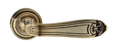 Фурнитура TIXX ручка дверная Корсо, цвет кофе