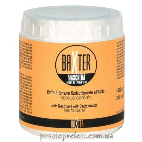 Punti di Vista Baxter Hair Treatment Mask With Garlic Extract - Лікувальна маска для ослабленого, жорсткого, схильного до випадання волосся з екстрактом часнику