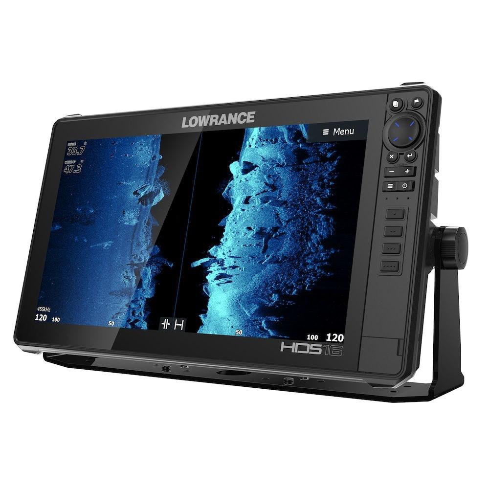 Lowrance HDS-16 Live вид сбоку