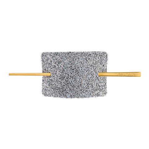 Balmain Hair Заколка со шпилькой Серебряные Кристаллы Сваровски