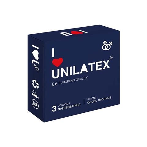Презервативы Unilatex Extra Strong 3шт