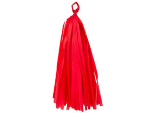1505-1674 Гирлянда Тассел красная 3м 10 листов/G