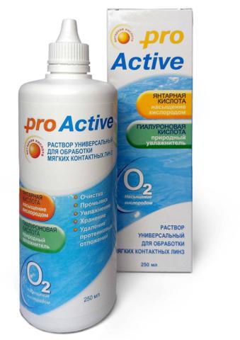Универсальный раствор «Pro Active» 250 мл