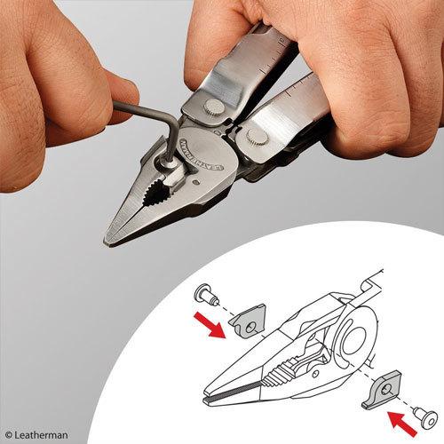 Кусачки Leatherman сменные для Super Tool 300, серебристые