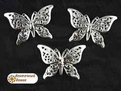 Филигрань Бабочка серебряная № 1
