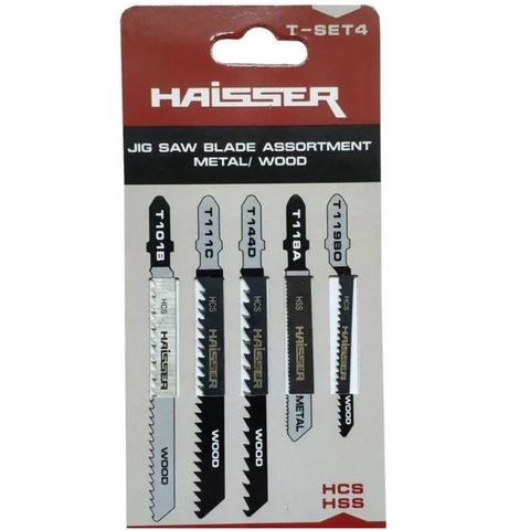 Полотно для электрического лобзика Т-SET 4  Haisser