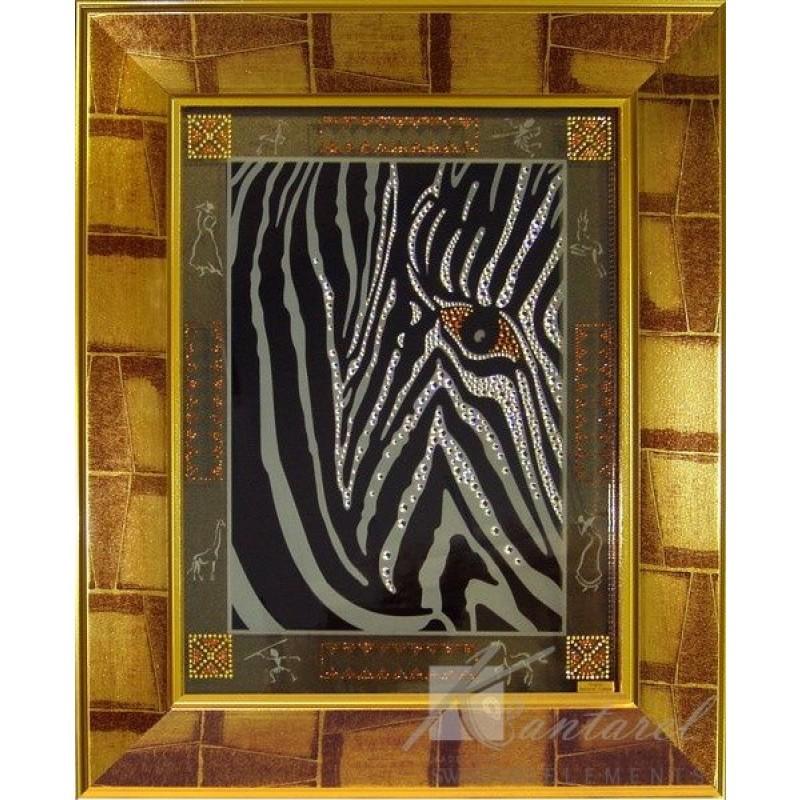 Картина Kantarel Взгляд зебры 134.68.42.0