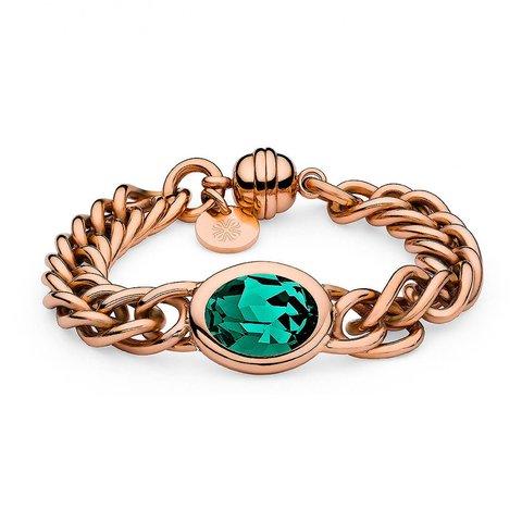 Браслет Tivola Emerald 137050 G/RG