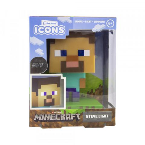 Светильник Minecraft Steve Light