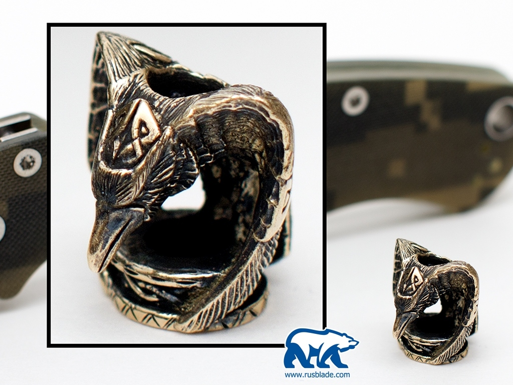 "Custom Sword Knot ""Raven"" Limited Edition"