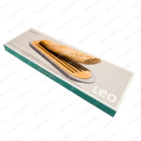 Набор 2пр с доской для хлеба и подносом 37*11*2см Leo