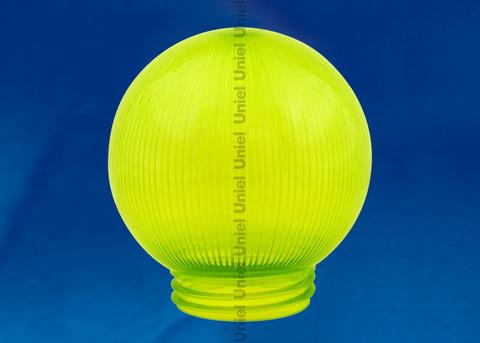 UFP-P250В GREEN Рассеиватель призматический (с насечками) в форме шара для садово-парковых светильников. Диаметр - 250мм. Тип соединения с крепежным элементом - посадочный. Материал - САН-пластик. Цвет - зеленый. Упаковка - 4 шт. в групповой картонной коробке.