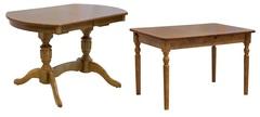 Столы обеденные (массив)