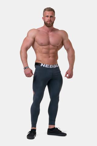 Мужские леггинсы NebbiaLegend of Today leggings full lenght 189 Dark grey