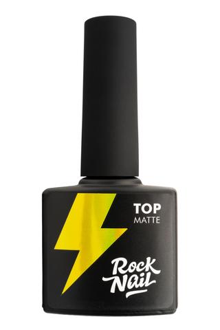 Топ матовый RockNail Matte Top 10мл