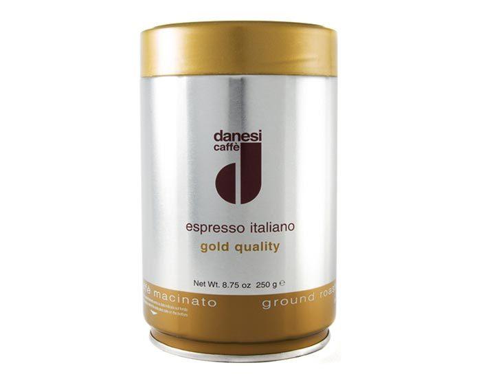 Кофе в зернах Danesi Gold, 250 г в банке