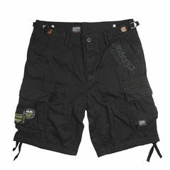Карго-шорты черные Yakuza Premium 2863
