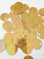 Пайетки Цвет: Золото, Голограмма