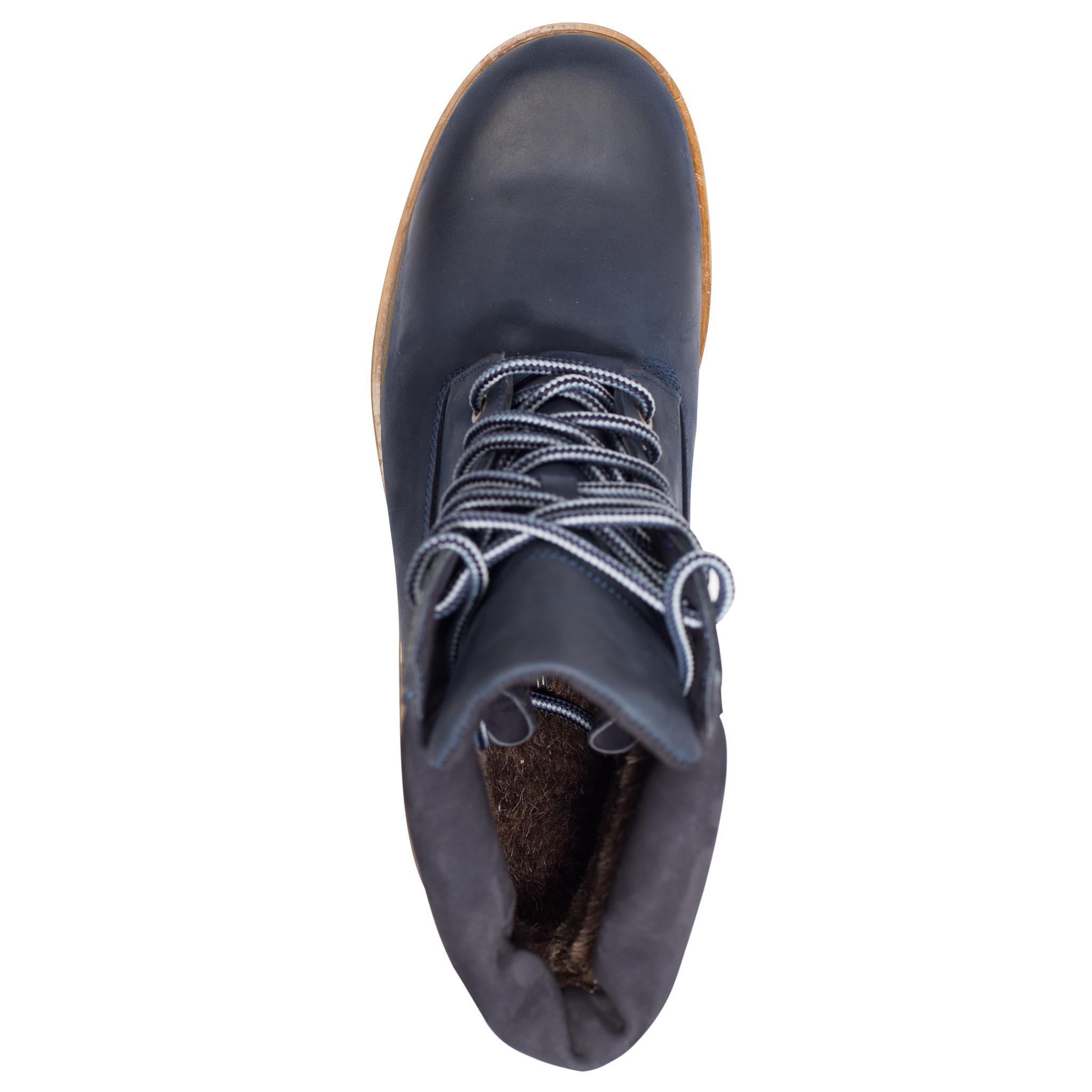 496478 ботинки мужские синие больших размеров марки Делфино