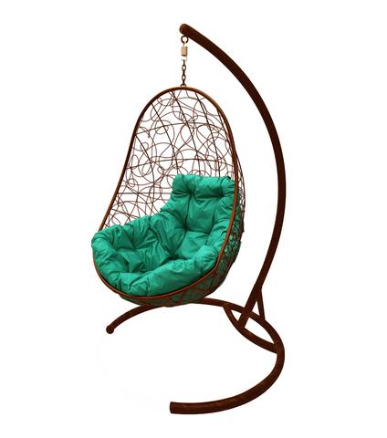 Кресло подвесное Parma brown/green